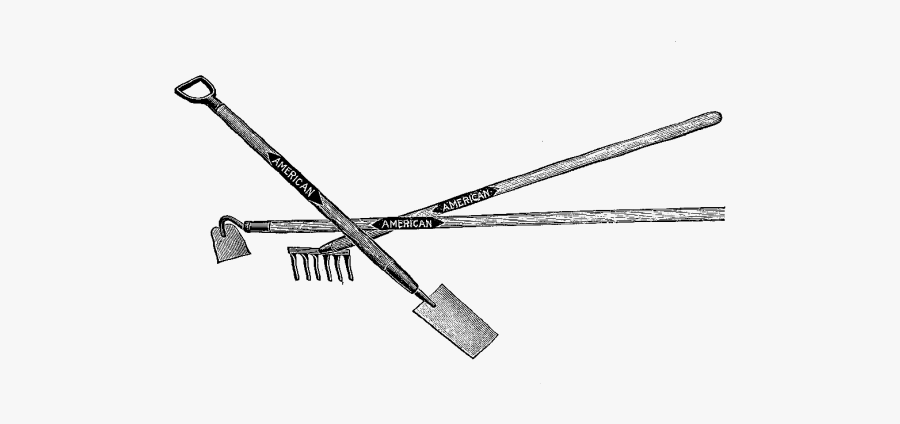 Garden Tools Hubpicture Pin - Weapon, Transparent Clipart
