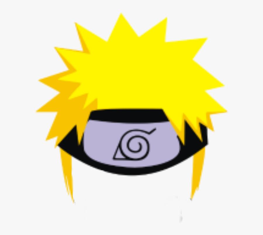 Naruto Hair Anime Kakashi Hatake Rasen Shuriken Rasens - Transparent Naruto Headband Png, Transparent Clipart