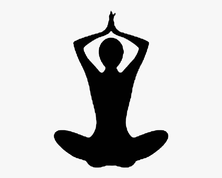 Yoga Silhouette Indian People Png Free Transparent Clipart Clipartkey