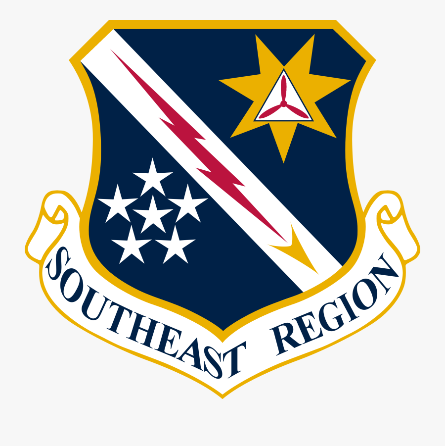 Southeast Region Shield - United States Air Forces In Europe - Air Forces Africa, Transparent Clipart