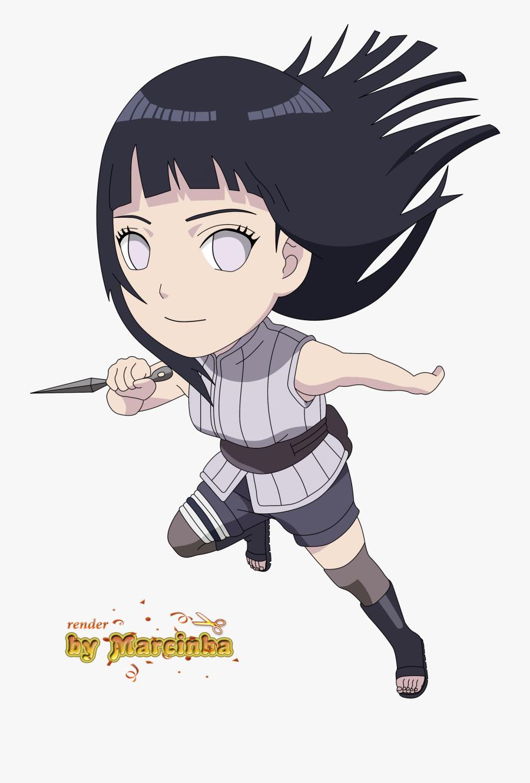 Transparent Naruto Chibi Png - Hinata The Last Chibi, Transparent Clipart