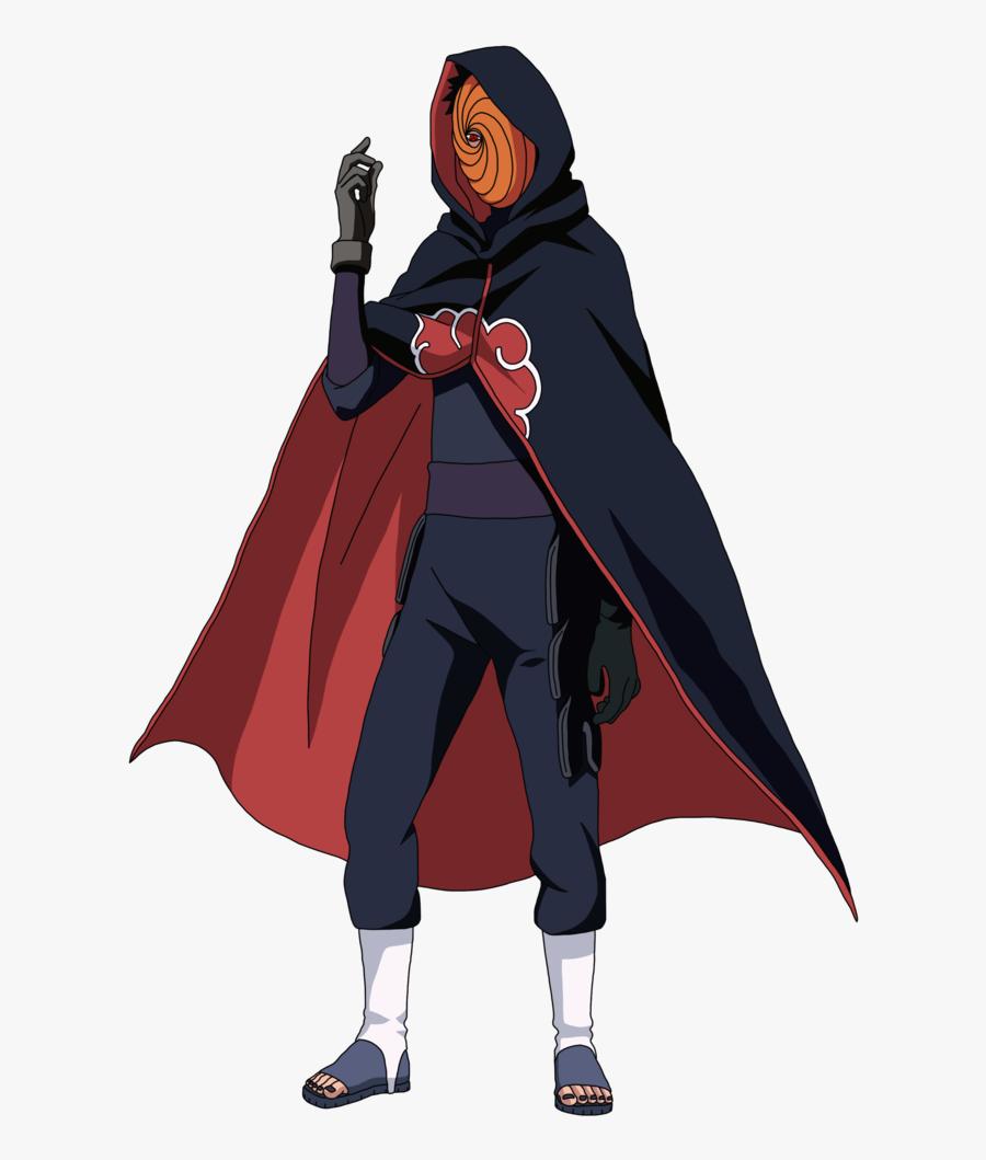 Naruto Clipart Naruto Shippuden - Obito Uchiha Madara, Transparent Clipart