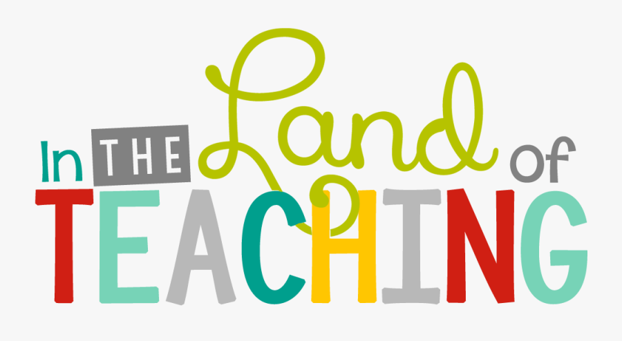 In The Land Of Teaching - Graphic Design, Transparent Clipart