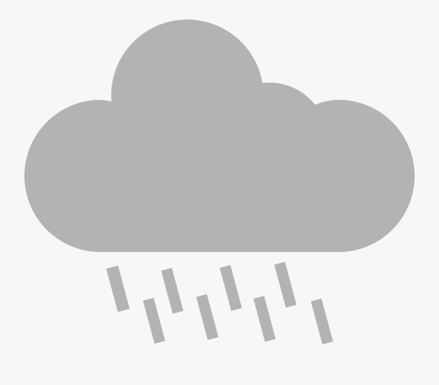 Transparent Rain Cloud Png - Portable Network Graphics, Transparent Clipart