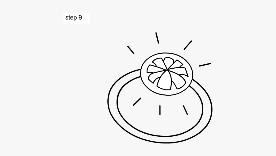 Ring Drawing Kid - Draw A Ring For Kids, Transparent Clipart