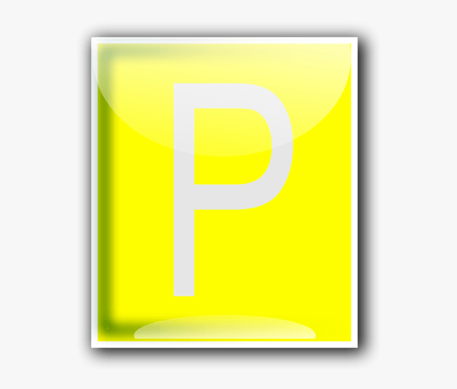 Parking Symbol Clipart Cliparthut Free Clipart - Graphic Design, Transparent Clipart