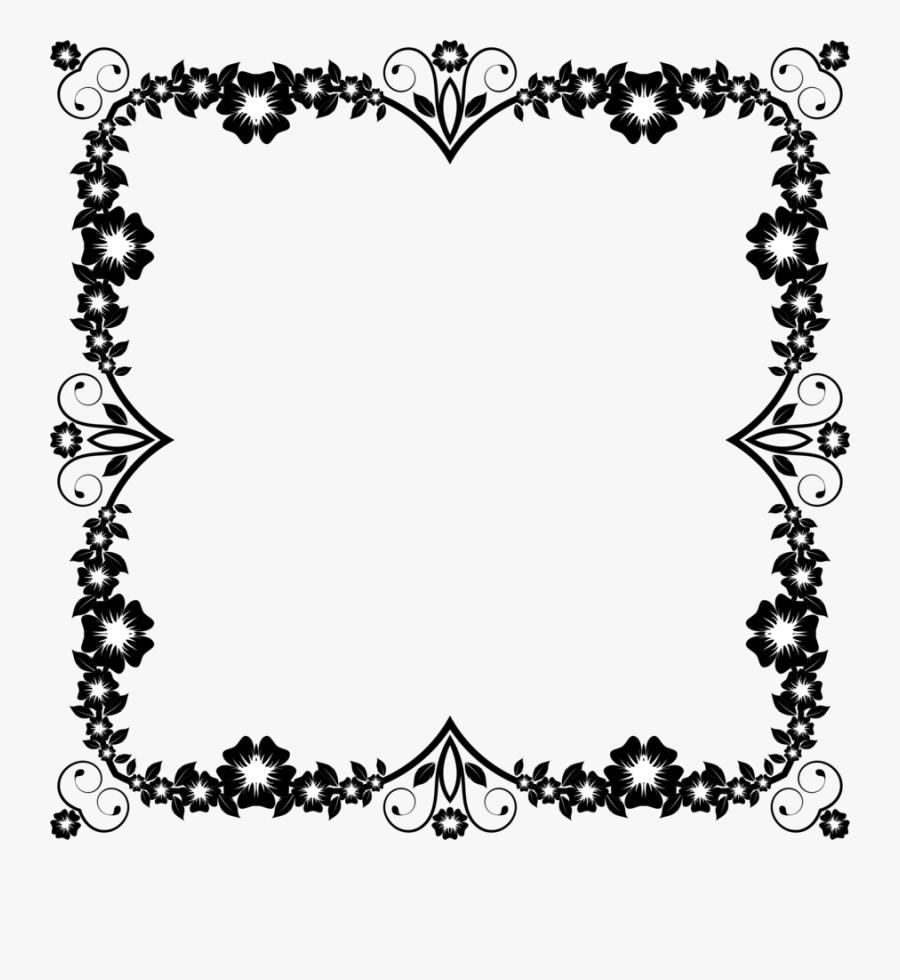 Picture Frame,heart,love - Transparent Frame Border Design Png, Transparent Clipart
