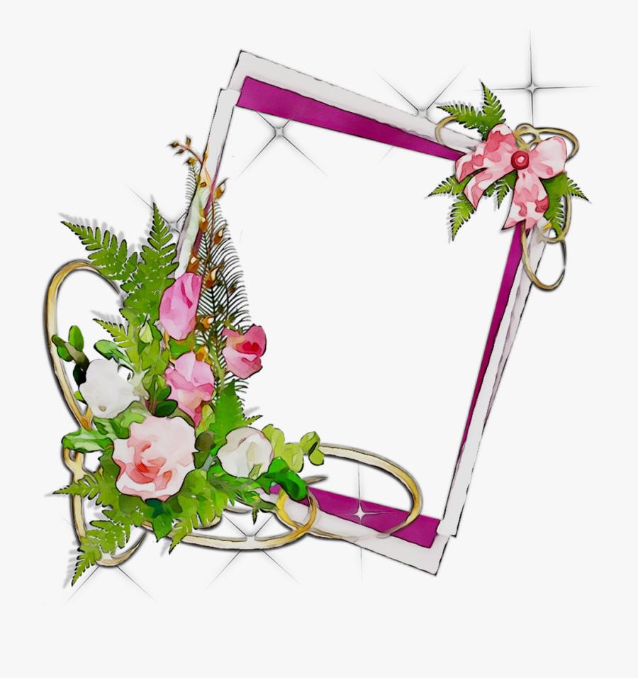 Picture Flower Frame Wallpaper Desktop Frames Clipart - Flower Frame Png 3d, Transparent Clipart