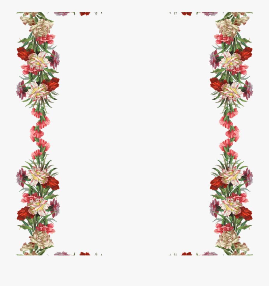 Transparent Vintage Borders Png Transparent Background Floral