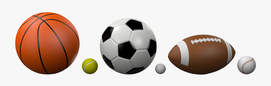 Sports Balls White Background Free Transparent Clipart Clipartkey