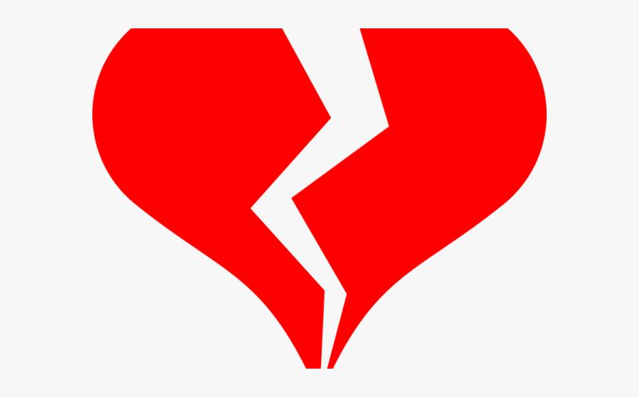 Free Broken Heart Drawing, Transparent Clipart