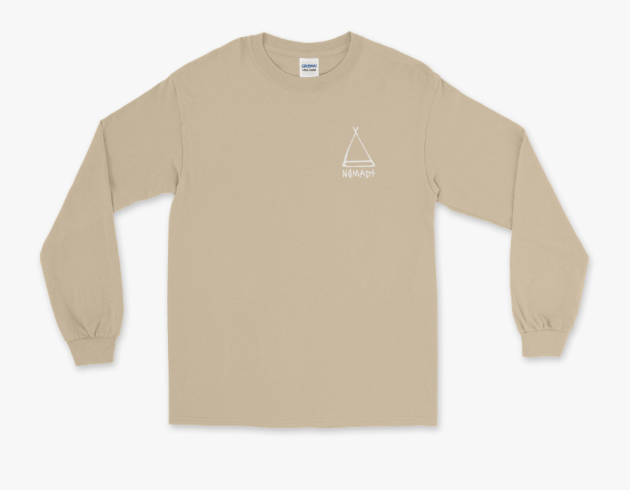 """Nomads Teepee L/s""""  Class=""""lazyload Lazyload Fade In - Long-sleeved T-shirt, Transparent Clipart"""