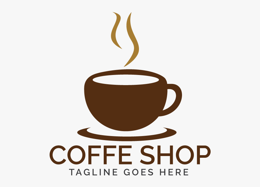 Coffee Shop Logo Example Image - Logo Coffee Shop Png, Transparent Clipart