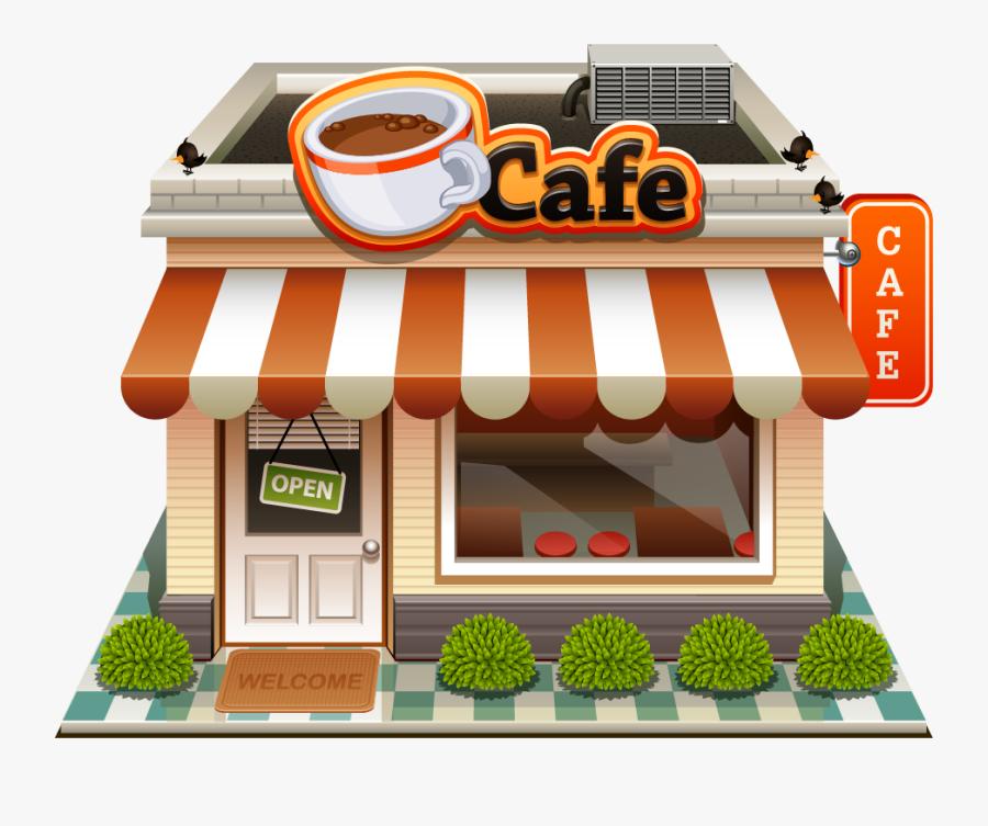 Transparent Coffee Shop Clipart, Transparent Clipart