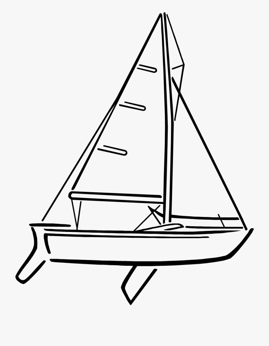 Junior Sailboat Written Test - Sail, Transparent Clipart