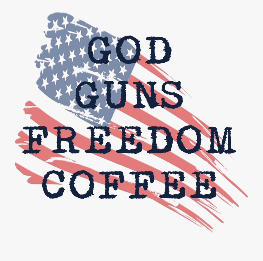 #coffee #navycoffee #veterancoffee #military Coffee - American Flag, Transparent Clipart