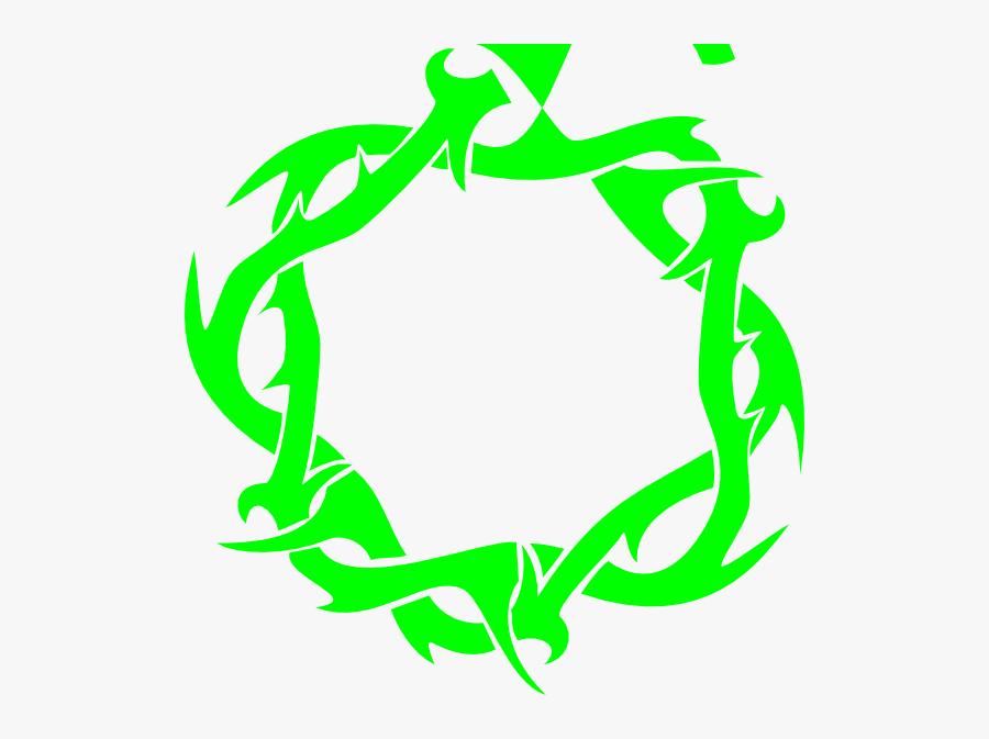 Transparent Background Crown Of Thorns, Transparent Clipart