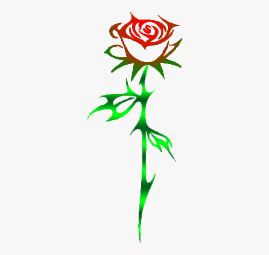My Rose Has Thorns - Rose And Thorn Transparent, Transparent Clipart