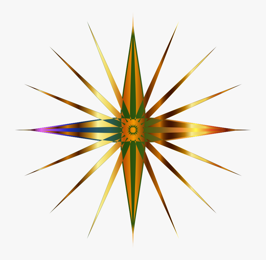 North Star - North Stars Png Icon, Transparent Clipart