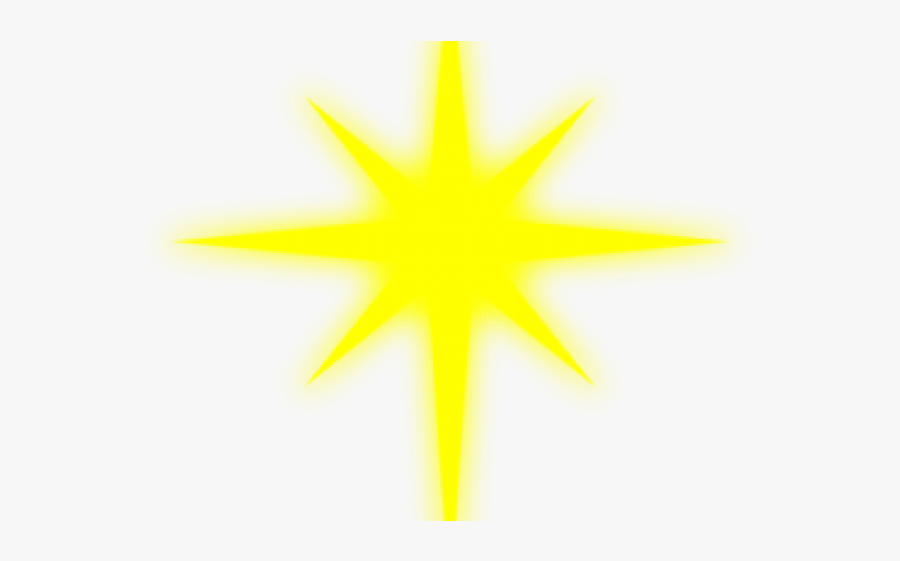 White North Star Png, Transparent Clipart