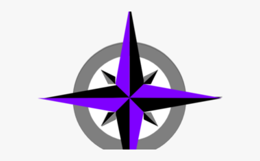 Compass Clipart North Star - North Clipart, Transparent Clipart