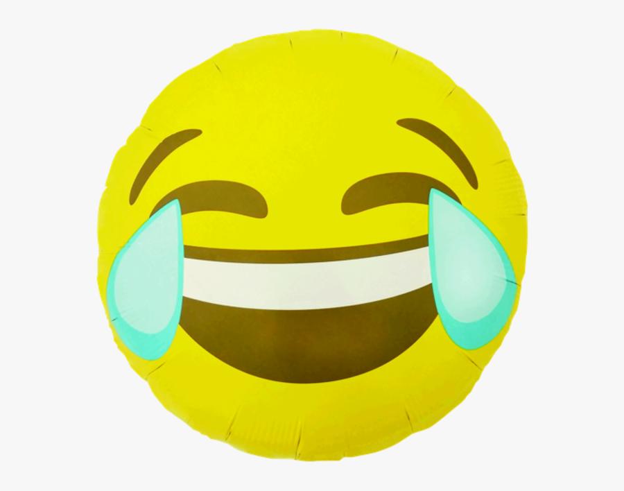 Emoji Crying Laughing , Pakket - Crying Laughing Emoji Balloon, Transparent Clipart