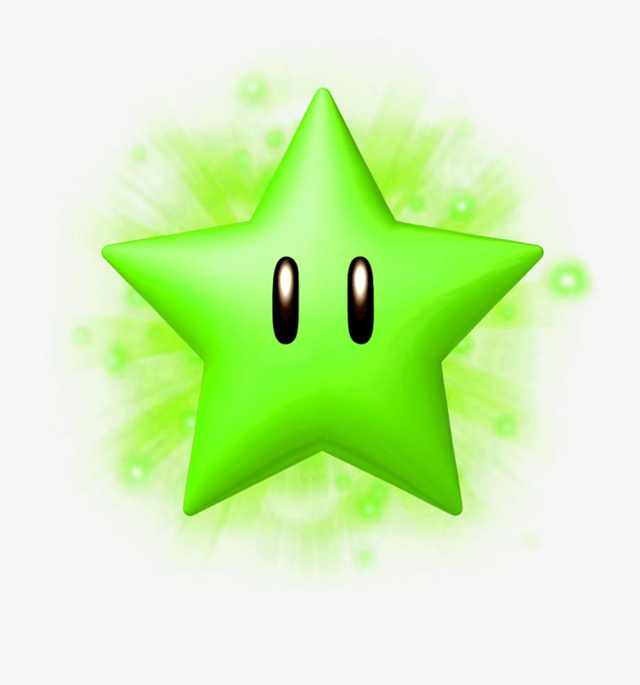 Transparent North Star Clipart - Transparent Mario Stars, Transparent Clipart
