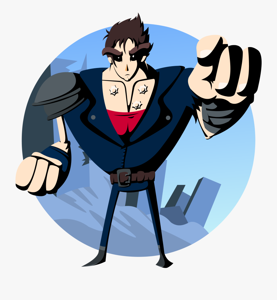 Fist Of The North Star - Cartoon, Transparent Clipart