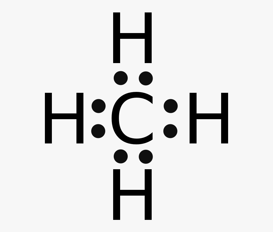 Electron Dot Diagram For Ch4 Free Transparent Clipart