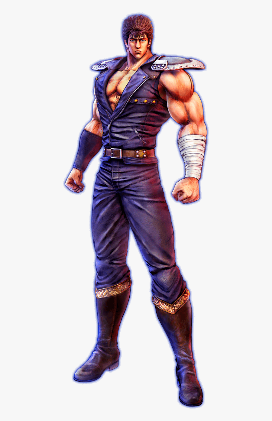 Fist Of The North Star - Fist Of The North Star Main Character, Transparent Clipart