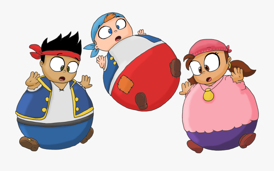 Jake And The Neverland Pirates Vore - Jake And The Never Land Pirates Izzy Talking, Transparent Clipart