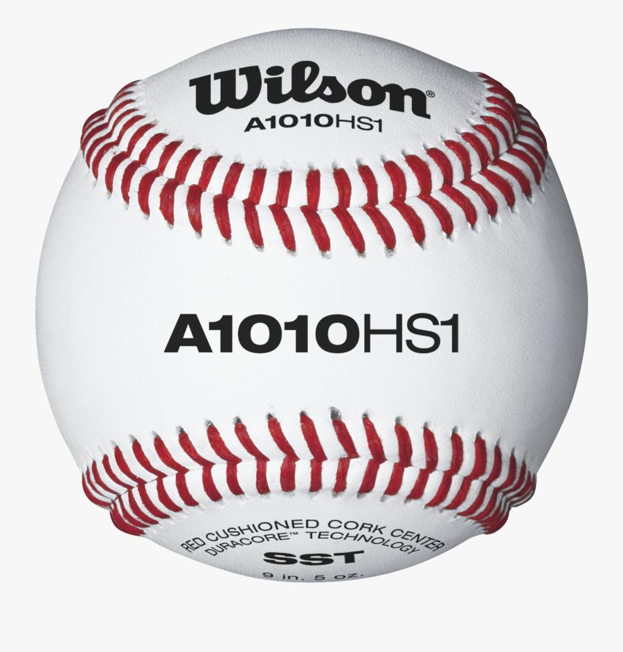 Transparent Baseball Seams Png - Wilson A1010 Baseballs, Transparent Clipart