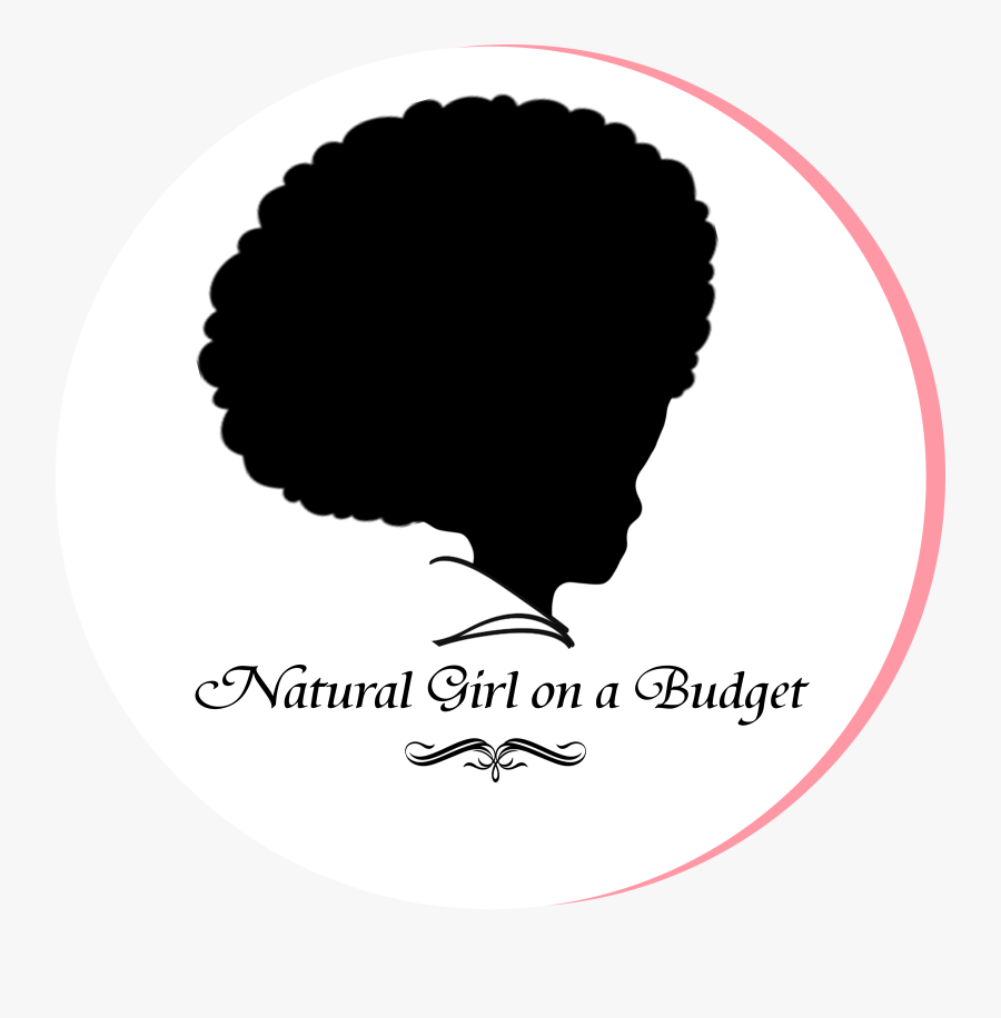 Logo Hair Care Afro-textured Hair Hairstyle Braid - Natural Girl Logo, Transparent Clipart