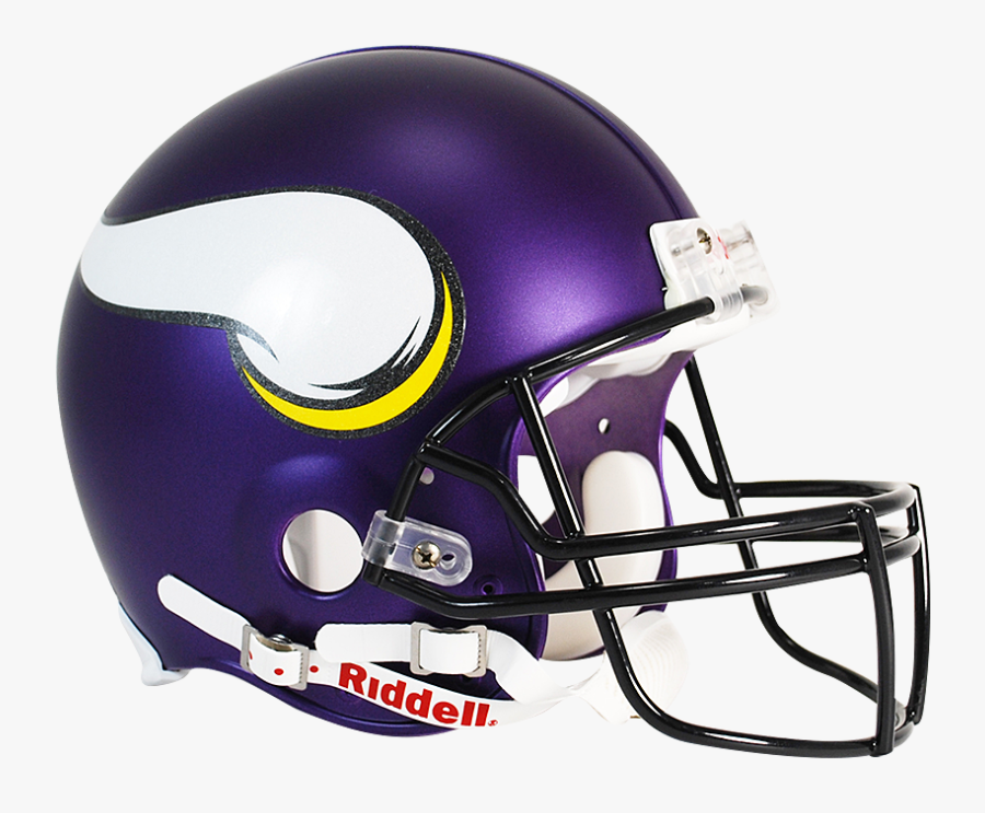 Horn Clipart Football Vikings - Minnesota Vikings Helmet, Transparent Clipart