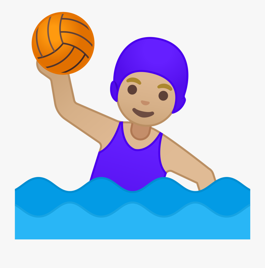Water Polo Emoji Clipart , Png Download - Water Polo Emoji, Transparent Clipart