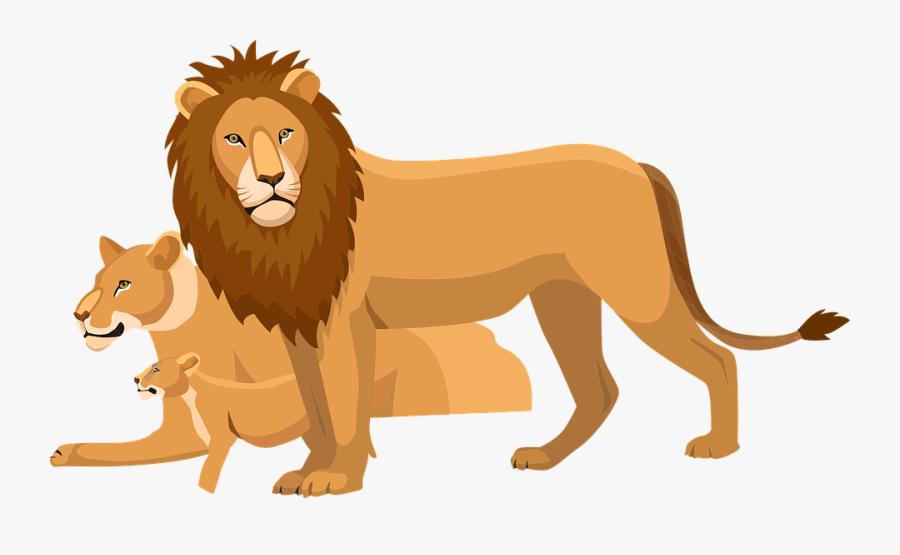 Cartoon Lion Clipart 12, - Lion King 2019 Bags, Transparent Clipart