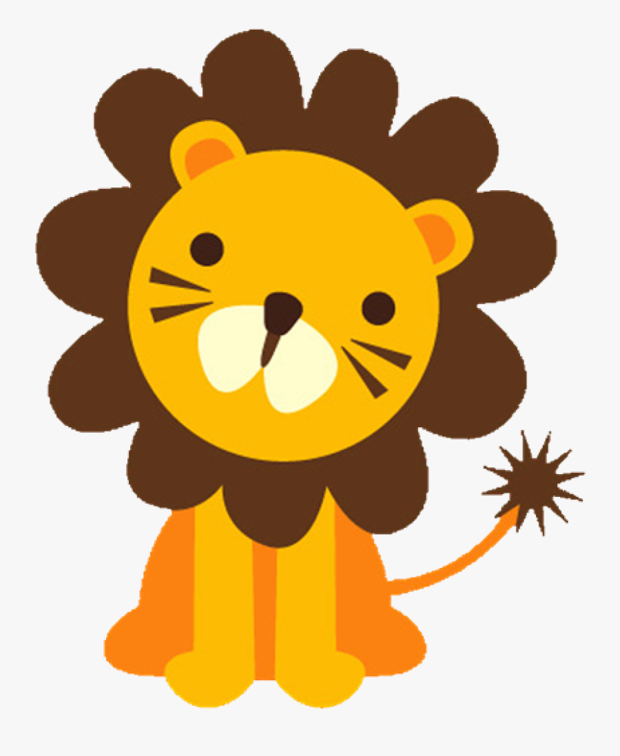 Baby Lion Clipart Baface 71 With Clipart Ba Shower - Jungle Animals Clipart Png, Transparent Clipart