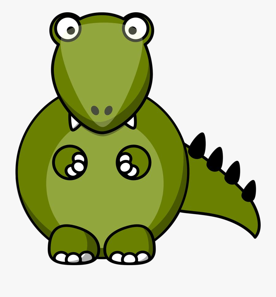 Clip Art Cute Dinosaur Costumes For - Cartoon T Rex Body, Transparent Clipart