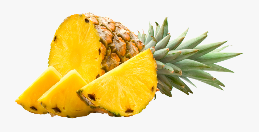 Pineapple Pieces Png Image - My Favorite Fruit Is Pineapple, Transparent Clipart