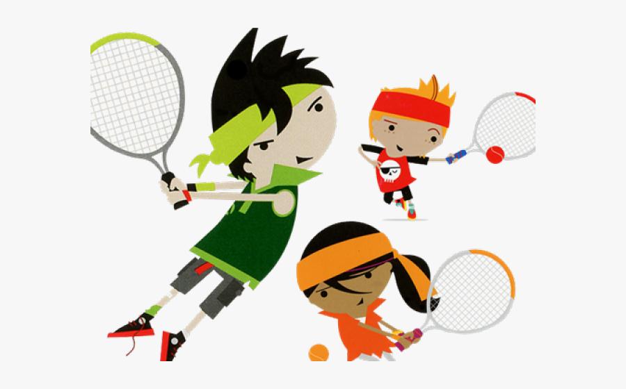 Invite Un Copain Tennis, Transparent Clipart