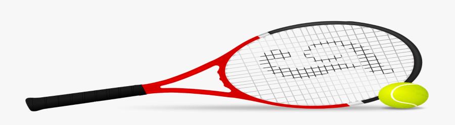 How A Tennis Racket Stops Me Grieving - Racket Tennis, Transparent Clipart