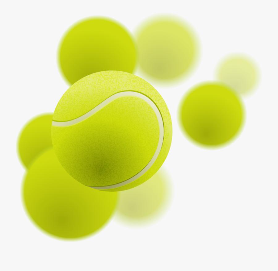 Tennis Ball Green Circle - Transparent Tennis Ball Png, Transparent Clipart
