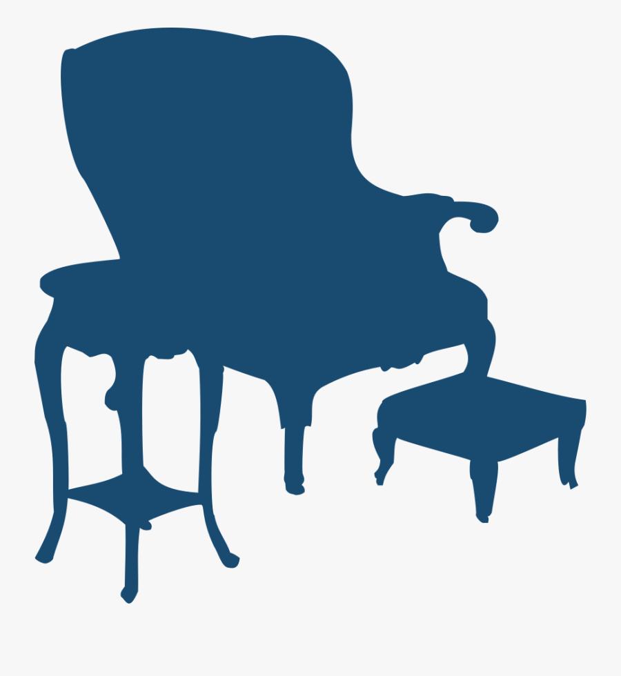Table Tennis Racquet Clipart, Vector Clip Art Online, - Cadeira Vetores Png, Transparent Clipart