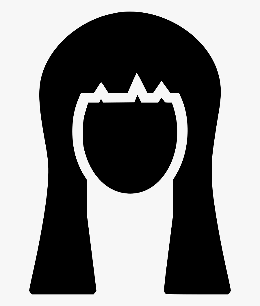 Transparent Girl With Long Hair Clipart, Transparent Clipart