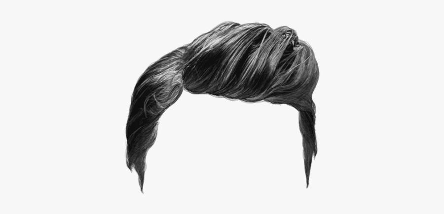Hair,long Hair,fashion Accessory,sketch - Men Hair Photoshop Png, Transparent Clipart