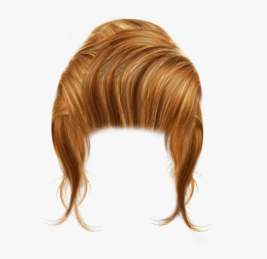 Hair Png No Color Clipart - Transparent Background Girls Hair Png, Transparent Clipart