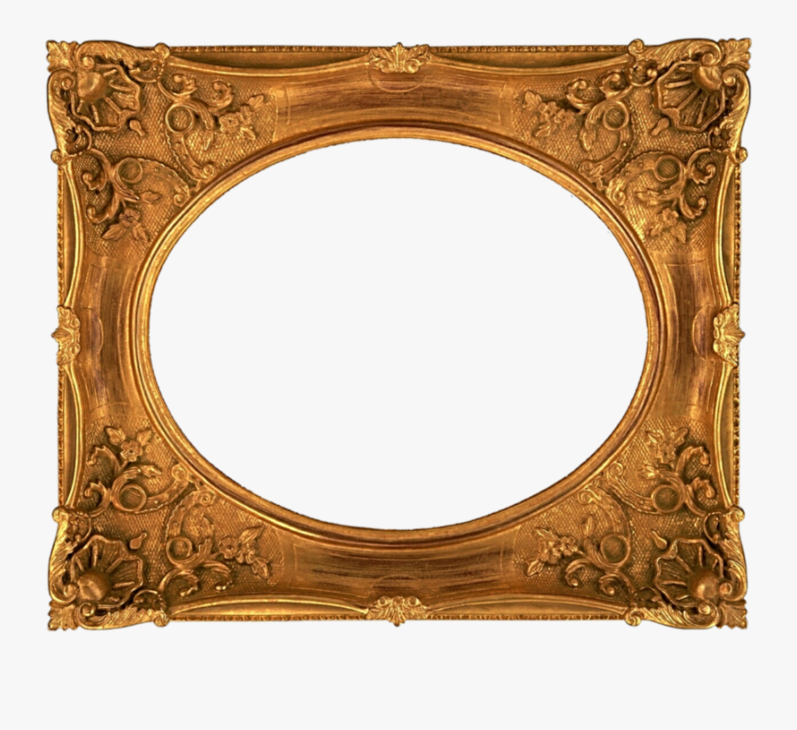 Fancy Old Picture Frame Clipart Picture Frames Antique - Old Fancy Picture Frame, Transparent Clipart