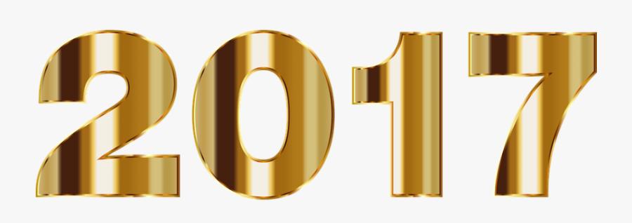 Año Nuevo 2017 Png, Transparent Clipart