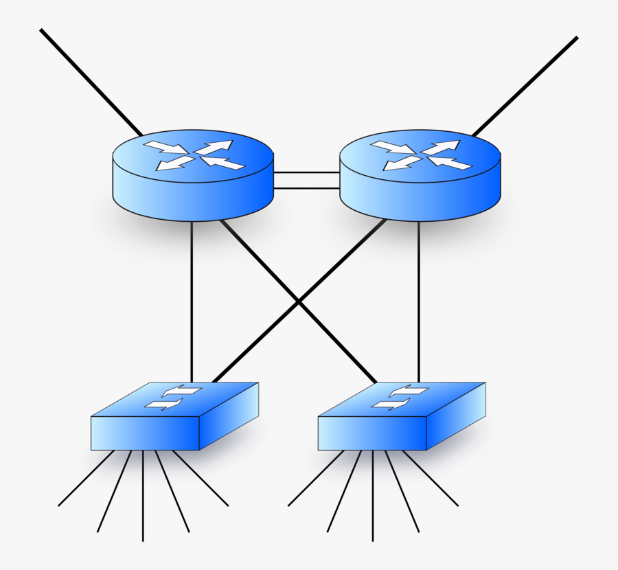 Routers And Switches, Transparent Clipart