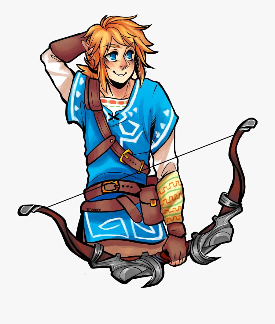 Link, The Legend Of Zelda - Link Legend Of Zelda Icon, Transparent Clipart